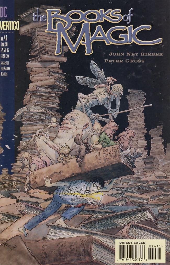Couverture de Books of Magic (The) (1994) -44- The end