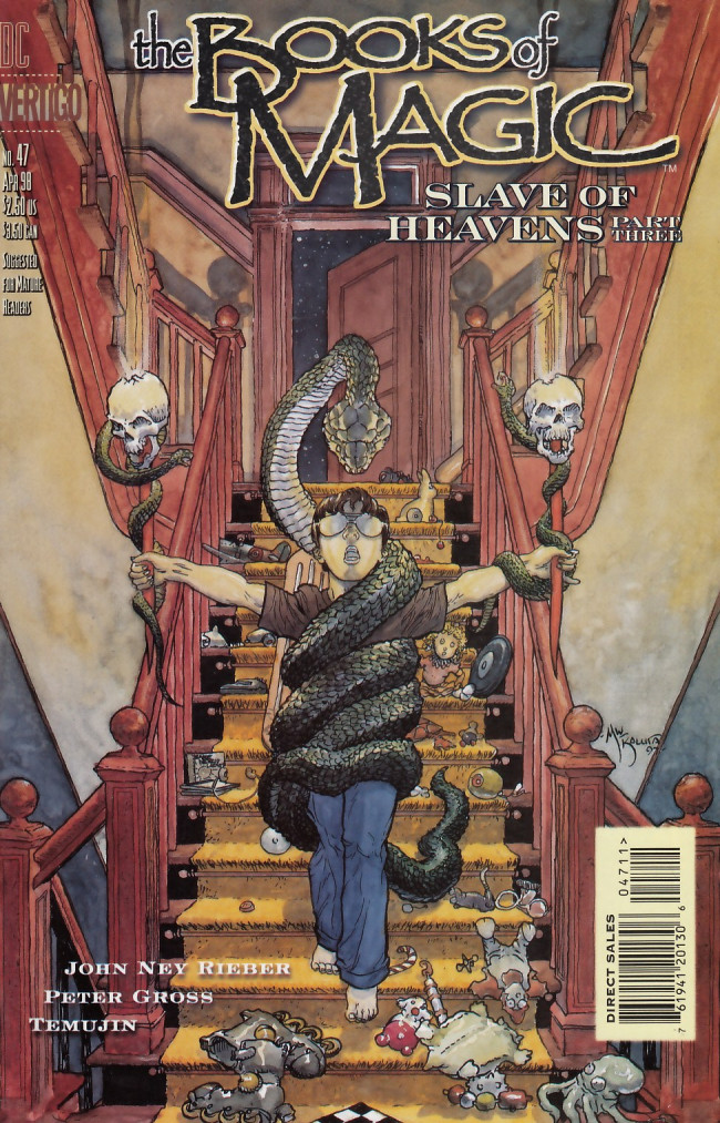 Couverture de Books of Magic (The) (1994) -47- Slave of heavens part three: Near life experience