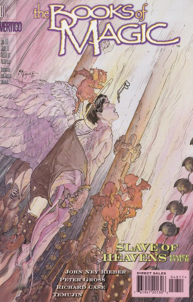 Couverture de Books of Magic (The) (1994) -48- Slave of heavens part four: Inconvenience be not proud