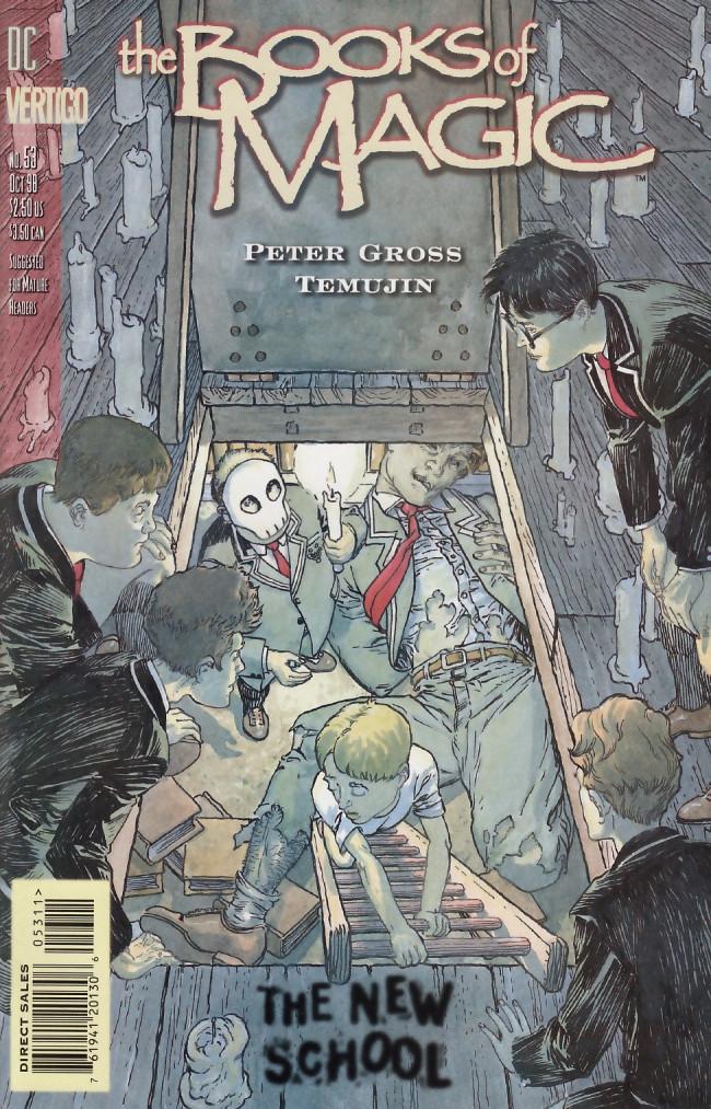 Couverture de Books of Magic (The) (1994) -53- Bardsey boys