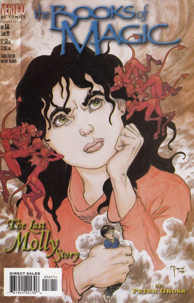 Couverture de Books of Magic (The) (1994) -56- The last Molly story