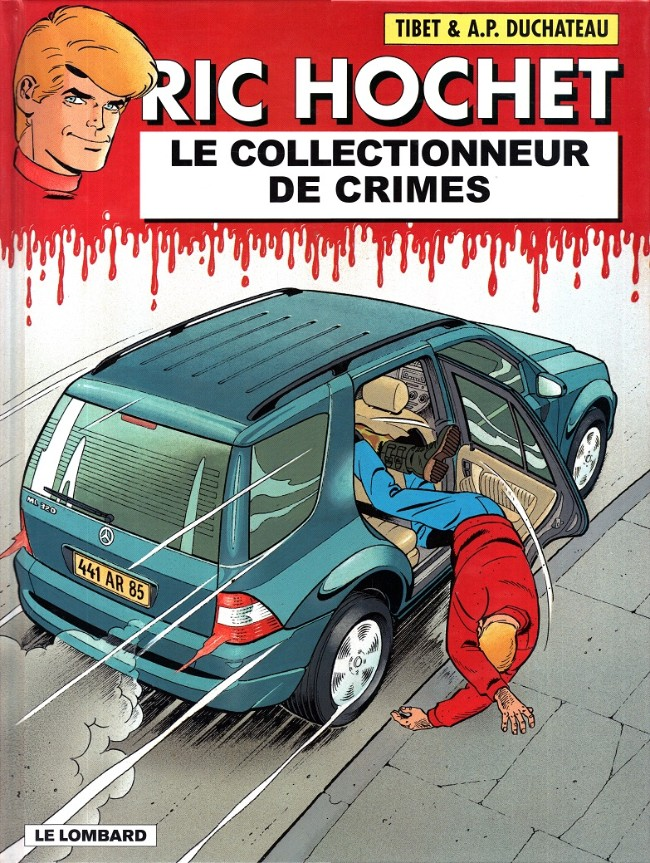 Couverture de Ric Hochet -68- Le collectionneur de crimes