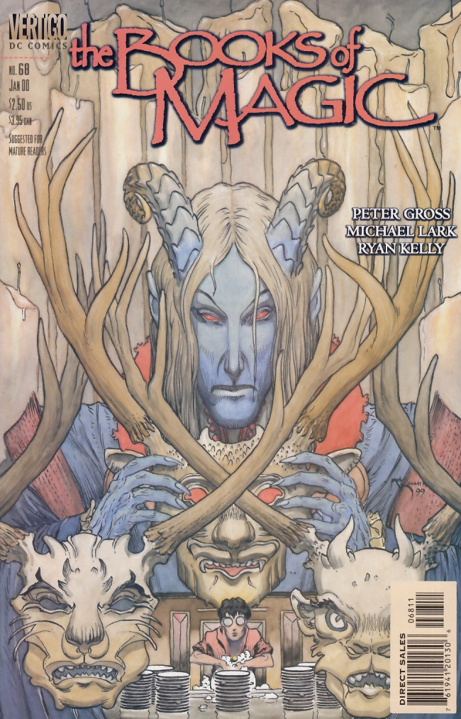 Couverture de Books of Magic (The) (1994) -68- Pentimento