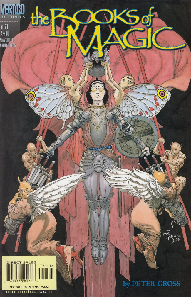 Couverture de Books of Magic (The) (1994) -71- The hunter