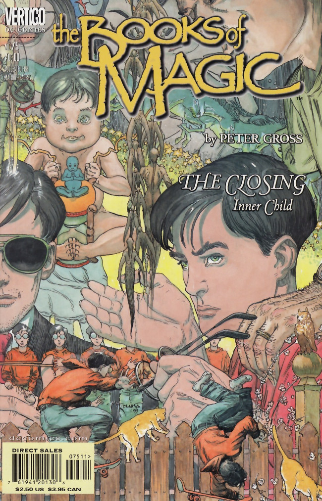Couverture de Books of Magic (The) (1994) -75- The closing part 3: Inner child