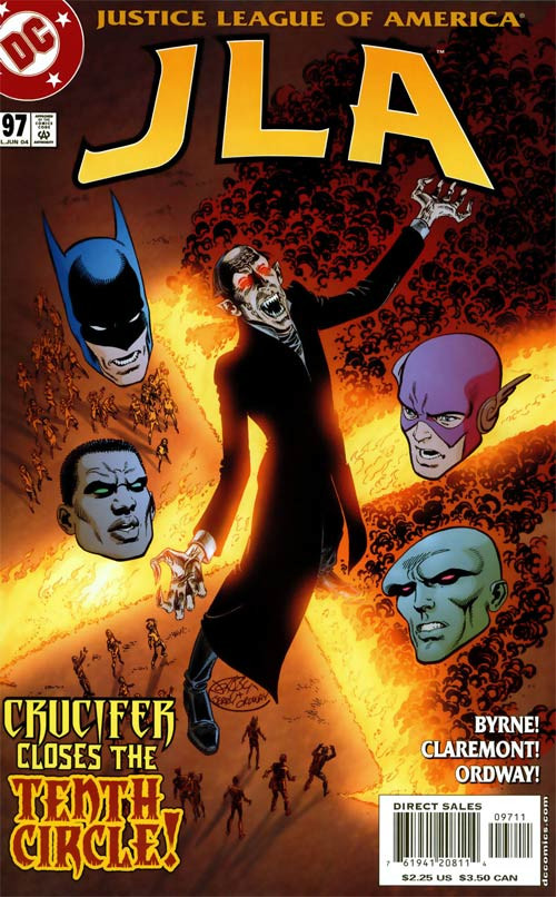 Couverture de JLA (1997) -97- The Tenth Circle, Part 4: Interludes on the Last Day of the World!