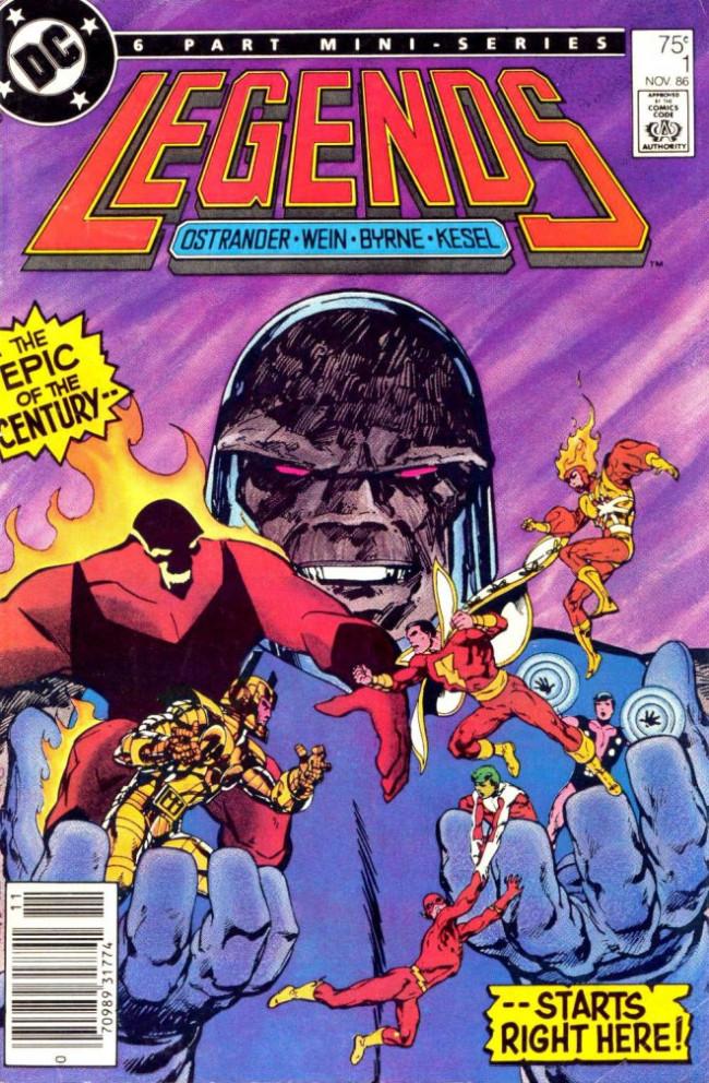 Couverture de Legends (1986) -1- Once Upon a Time...!