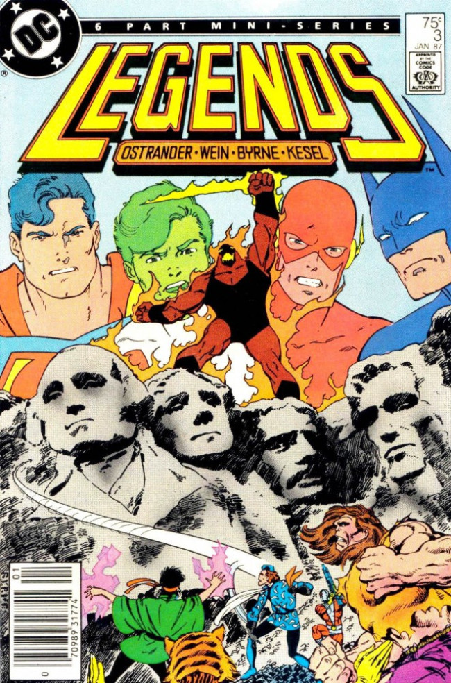 Couverture de Legends (1986) -3- Send for... the Suicide Squad!