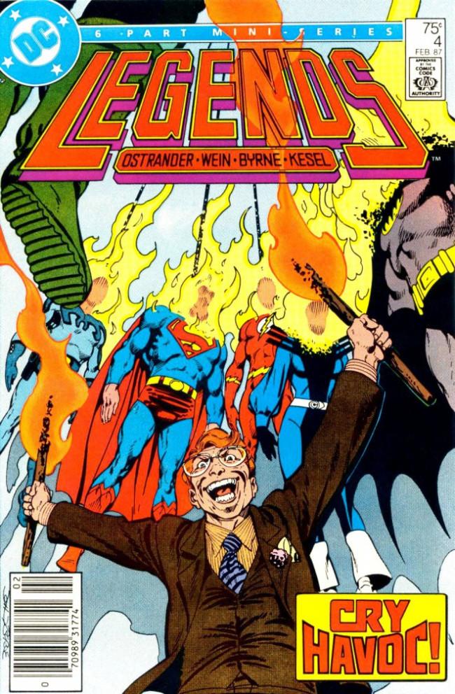 Couverture de Legends (1986) -4- Cry 'Havoc... !