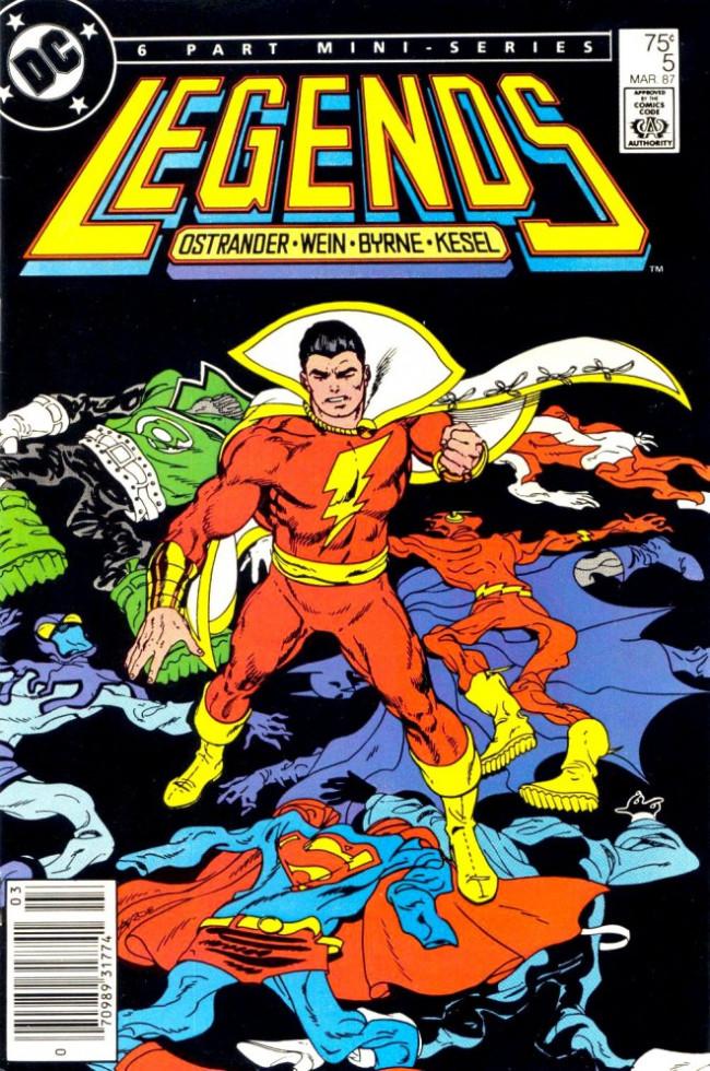 Couverture de Legends (1986) -5- ...and Let Slip the Dogs of War!
