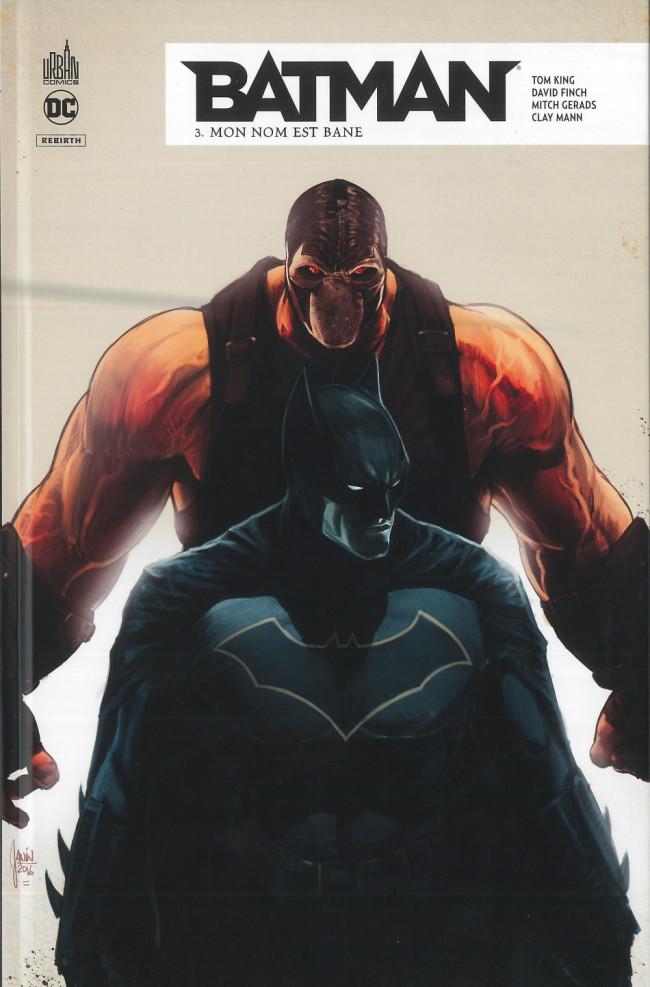 Couverture de Batman Rebirth -3- Mon nom est Bane
