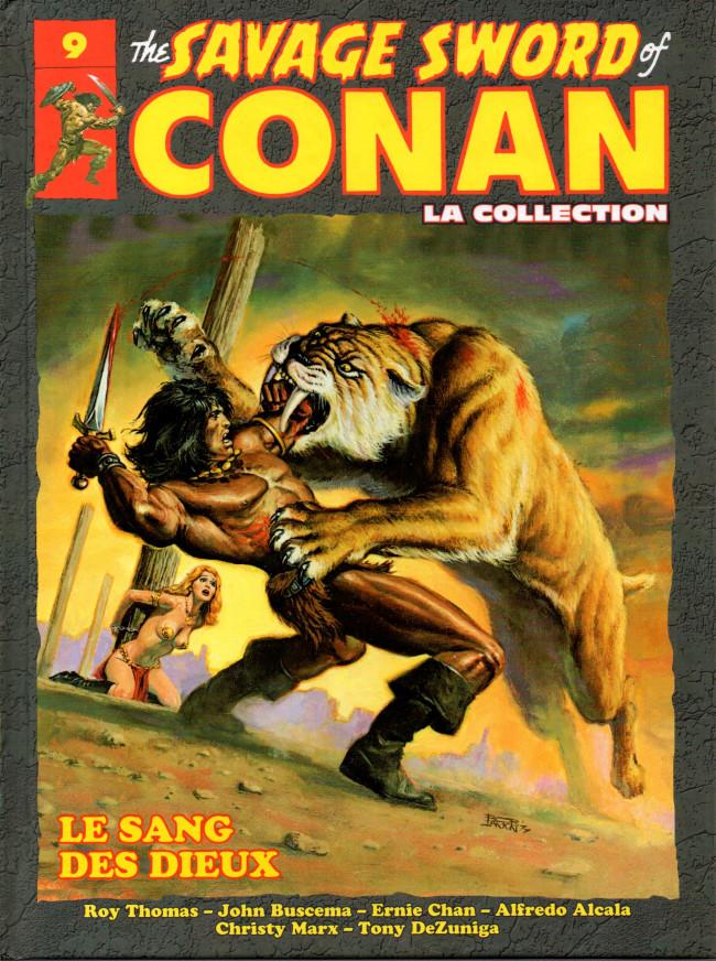 Couverture de Savage Sword of Conan (The) - La Collection (Hachette) -9- Le sang des dieux