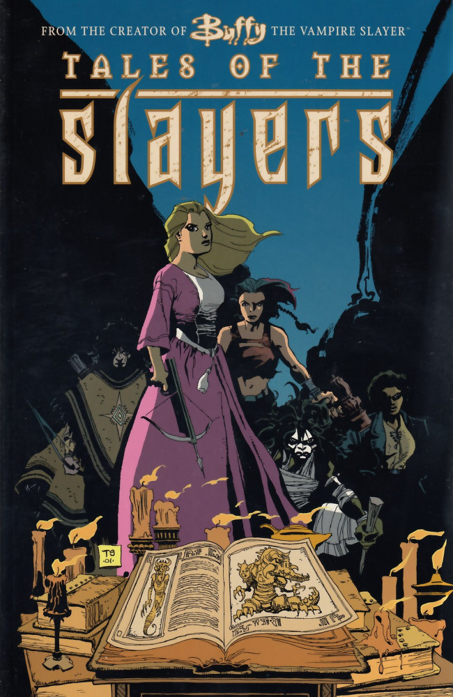 Couverture de Buffy the vampire slayer: Tales of the slayers (2001) -GN- Buffy the vampire slayer: Tales of the slayers