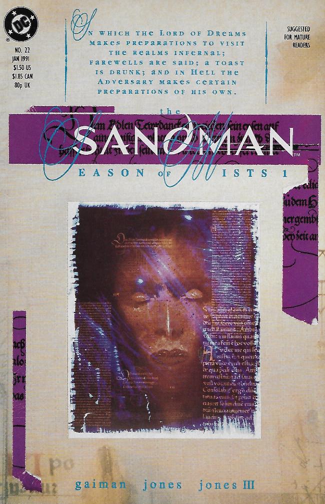 Couverture de Sandman (The) (1989) -22- Season of Mists Chapter 1