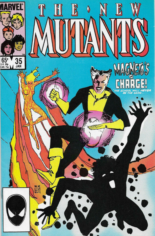Couverture de New Mutants (The) (1983) -35- The Times, They Are A'Changin'