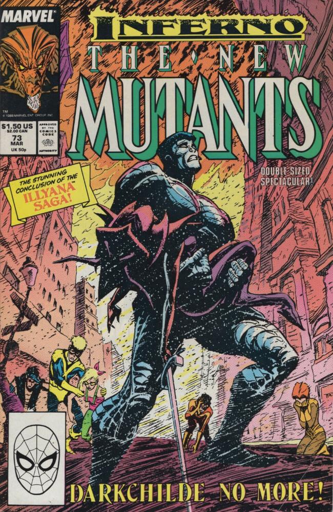 Couverture de New Mutants (The) (1983) -73- The Gift