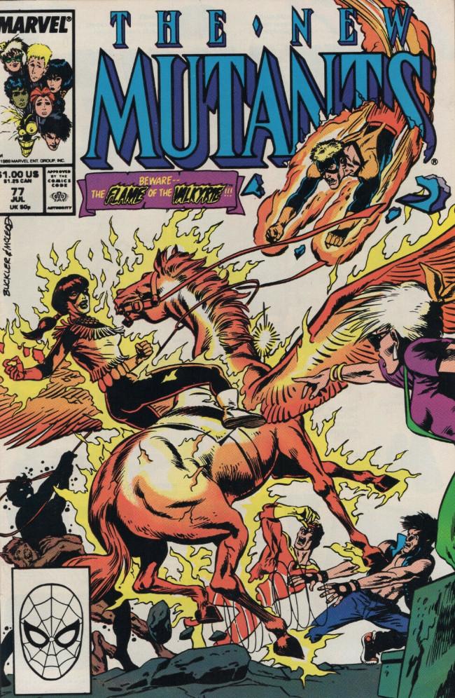 Couverture de New Mutants (The) (1983) -77- Strange!