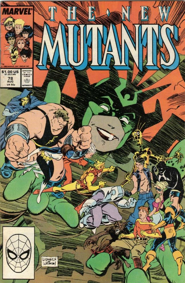 Couverture de New Mutants (The) (1983) -78- Let's Make a Deal!