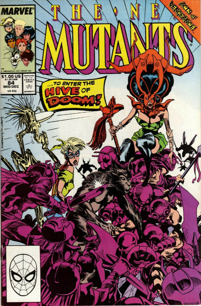 Couverture de New Mutants (The) (1983) -84- The Sword's Edge