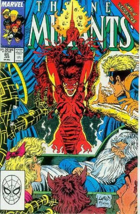 Couverture de New Mutants (The) (1983) -85- The Killing Stroke