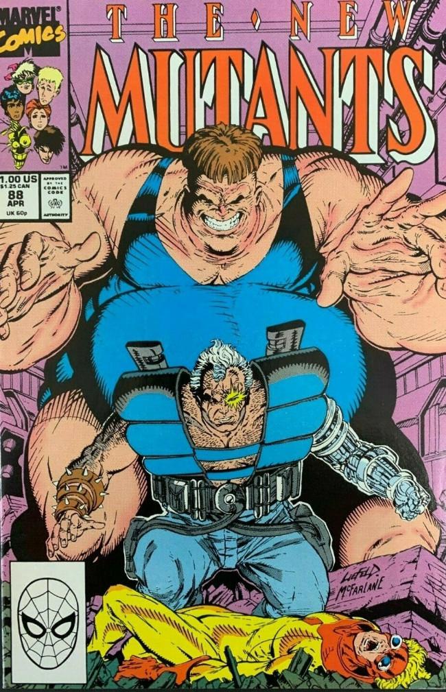 Couverture de New Mutants (The) (1983) -88- The Great Escape