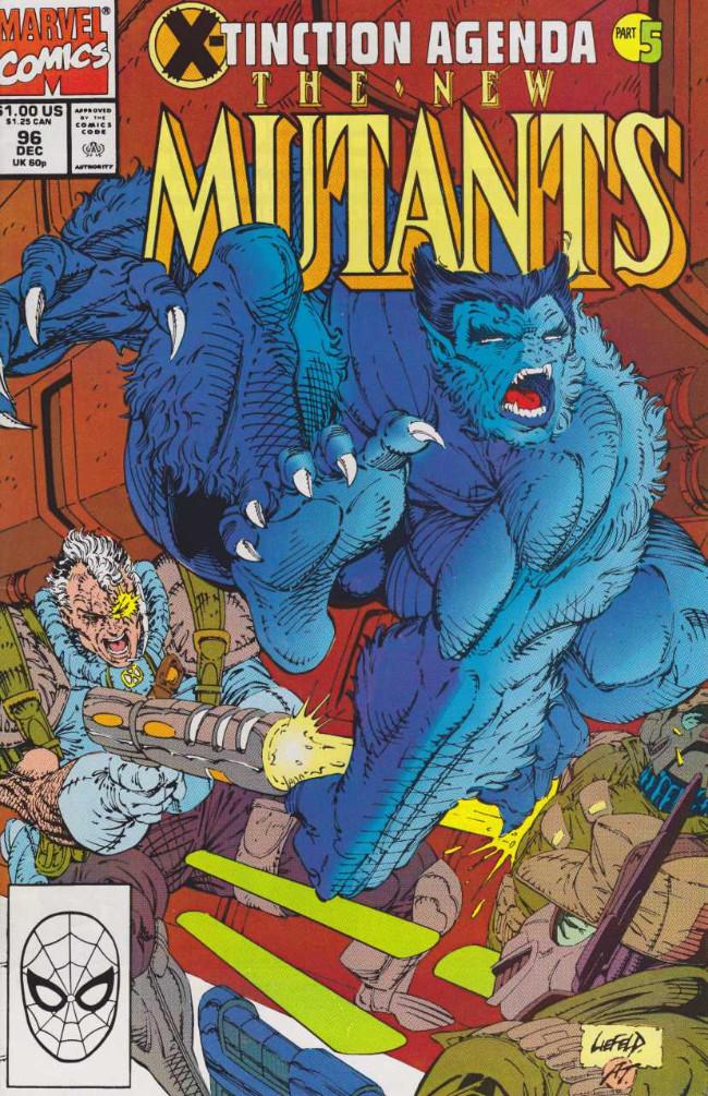 Couverture de New Mutants (The) (1983) -96- United We Stand (X-Tinction Agenda, Pt. 5)