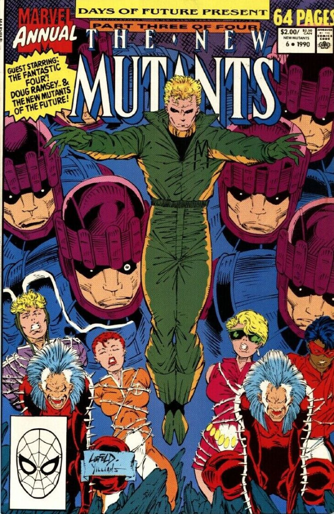 Couverture de New Mutants (The) (1983) -AN06- The Once and Future Mutant
