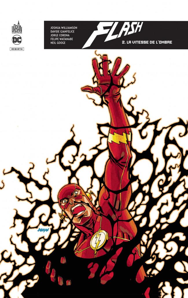 Couverture de Flash Rebirth -2- La Vitesse de l'ombre