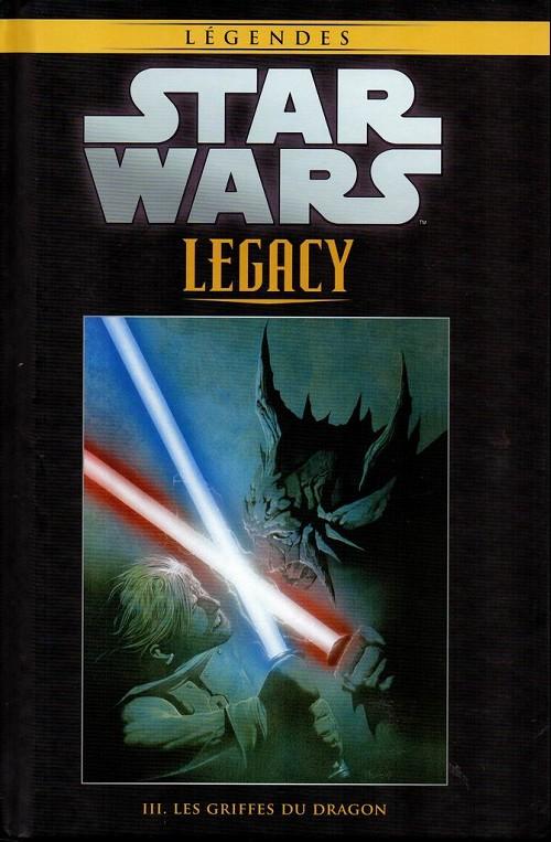 Couverture de Star Wars - Légendes - La Collection (Hachette) -5987- Star Wars Legacy - III. Les Griffes du dragon