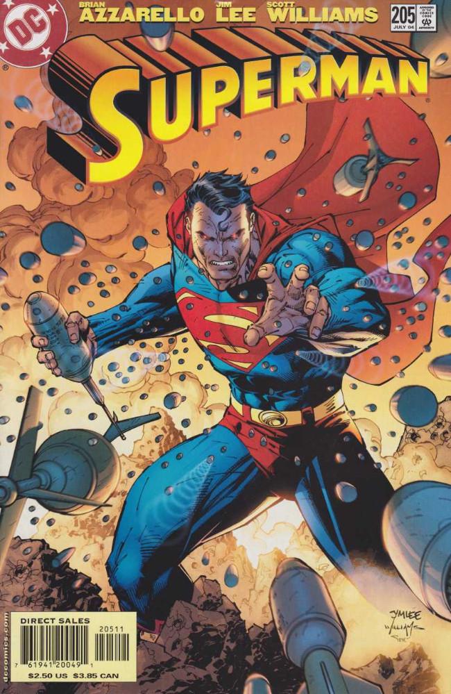 Couverture de Superman Vol.2 (DC comics - 1987) -205- For Tomorrow, Part Two