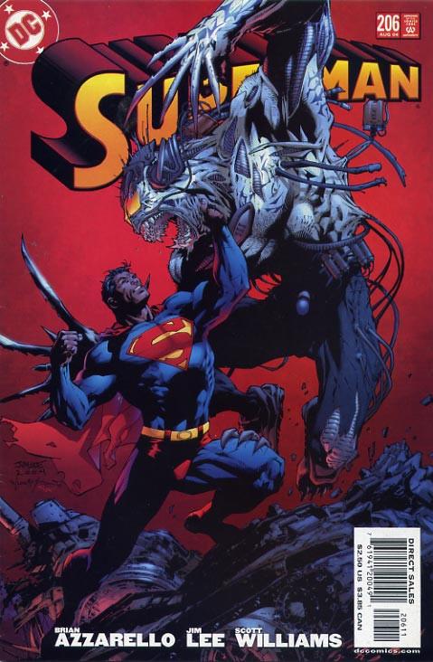 Couverture de Superman Vol.2 (DC comics - 1987) -206- For Tomorrow, Part Tree