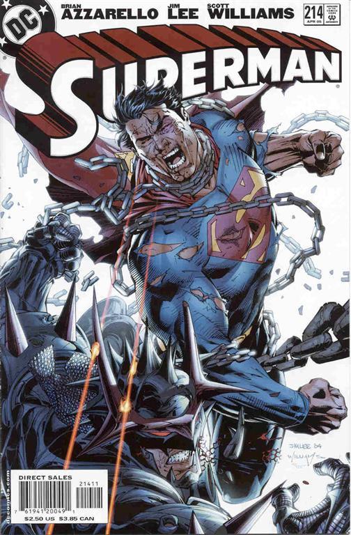 Couverture de Superman Vol.2 (DC comics - 1987) -214- For Tomorrow, Part Eleven