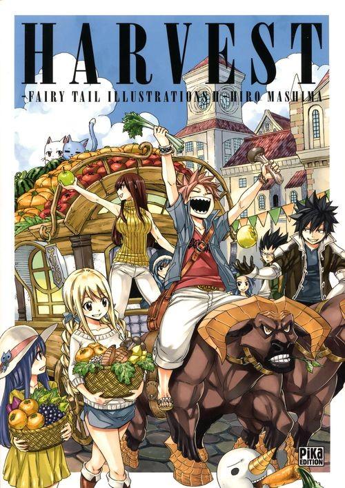 Couverture de Fairy Tail -HS- Harvest - Fairy Tail Illustrations II