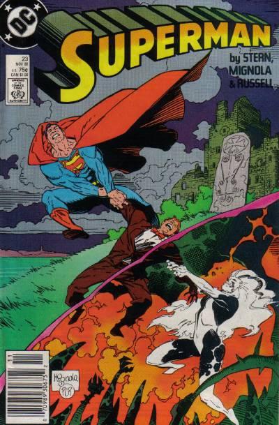 Couverture de Superman (1987) -23- Curse of the Banshee