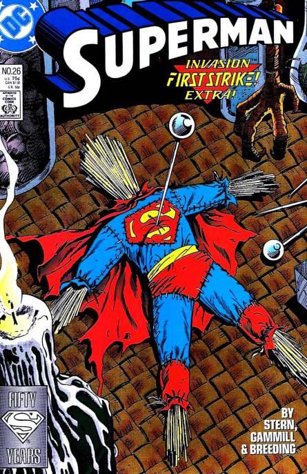 Couverture de Superman (1987) -26- It's Just a Shot Away!