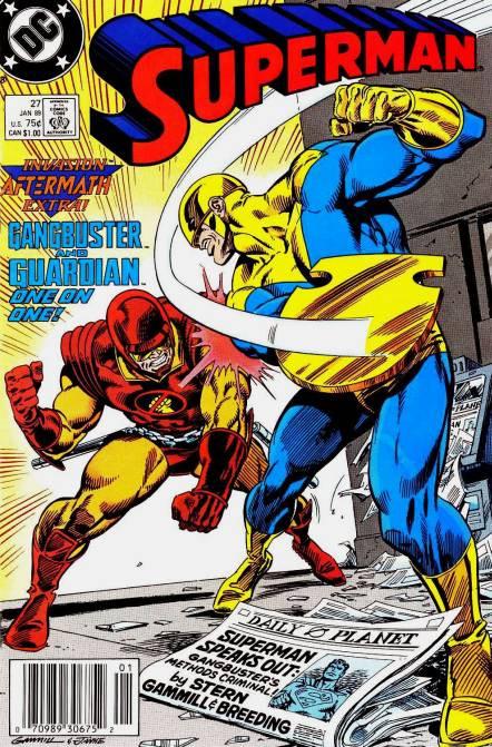 Couverture de Superman Vol.2 (DC comics - 1987) -27- Of Course, You Know, This Means War!