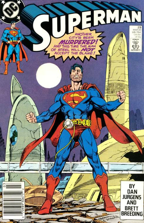 Couverture de Superman (1987) -29- If This Be My Fate
