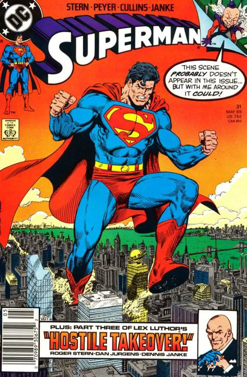 Couverture de Superman (1987) -31- Mr. Mxyzptlk! in As Good as His Word!