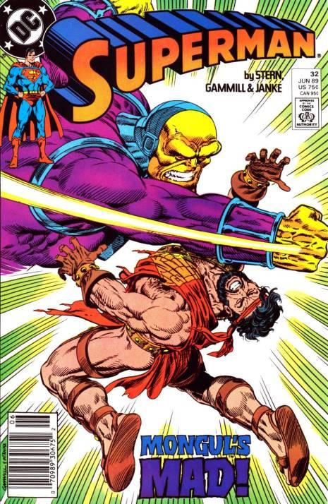 Couverture de Superman (1987) -32- Gladiator
