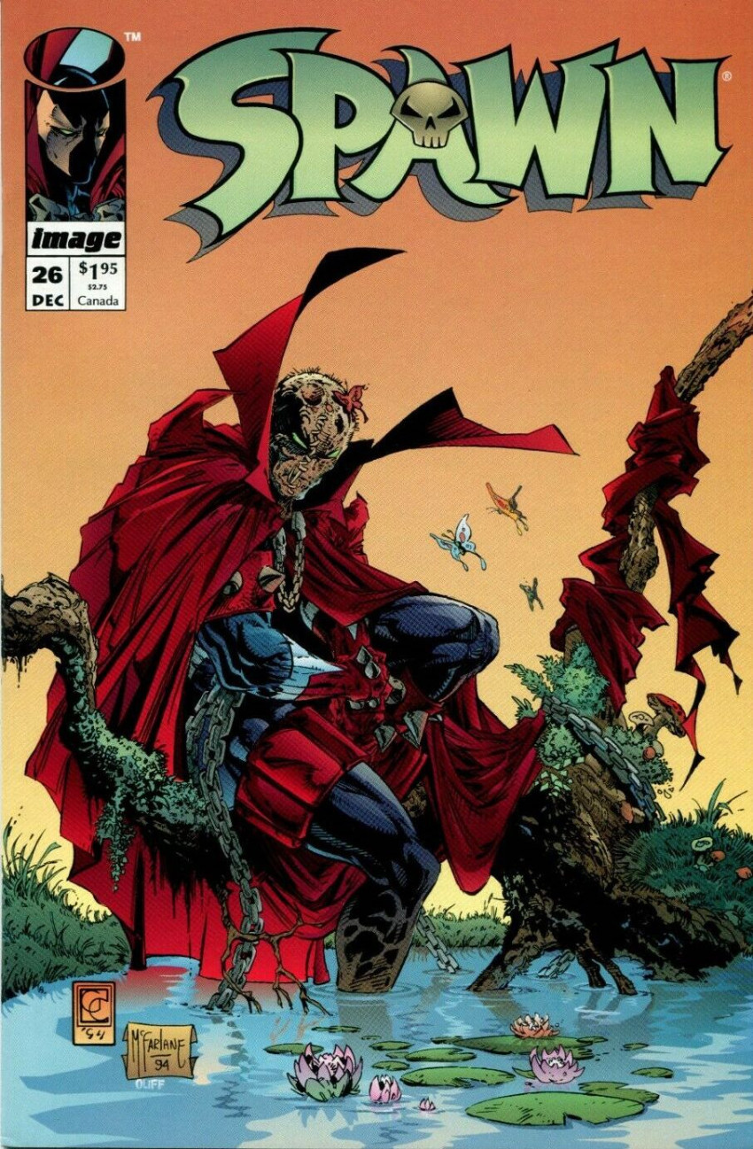 Couverture de Spawn (1992) -26- Appearing in the 1st Story