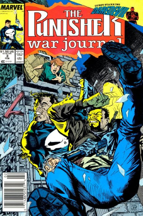 Couverture de Punisher War Journal Vol.1 (Marvel comics - 1988) -3- An Eye for an Eye, Chapter Three: A Dish Best Served Cold