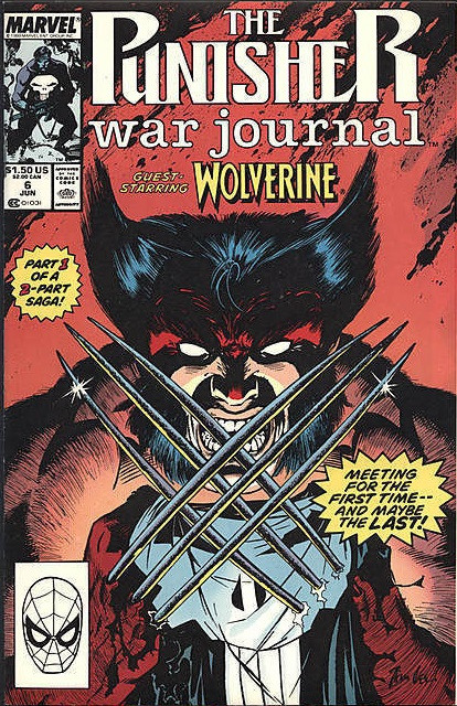 Couverture de Punisher War Journal (1988) -6- On the Track of Unknown Animals