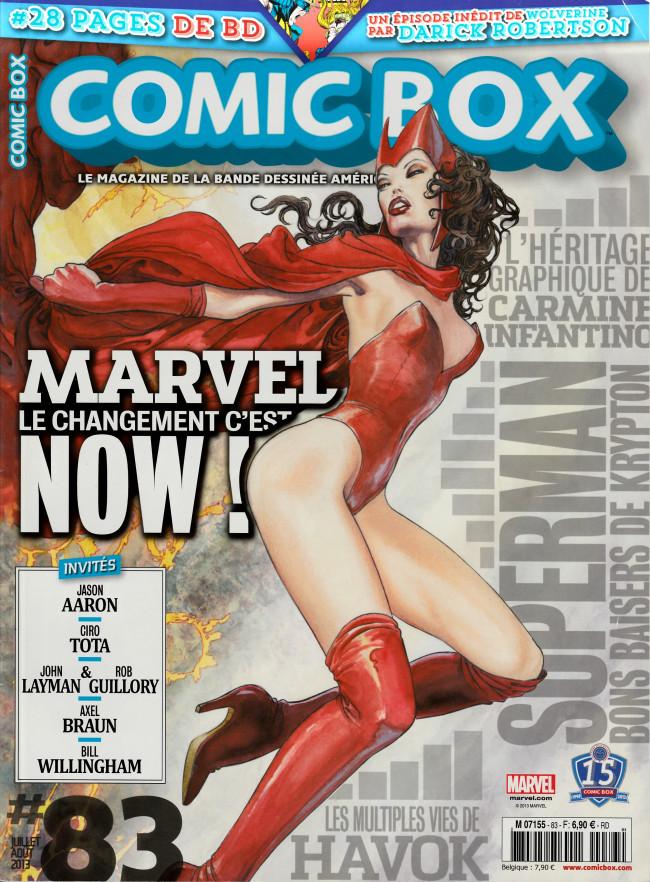 Couverture de Comic Box (1re série) -83- Comic Box 83