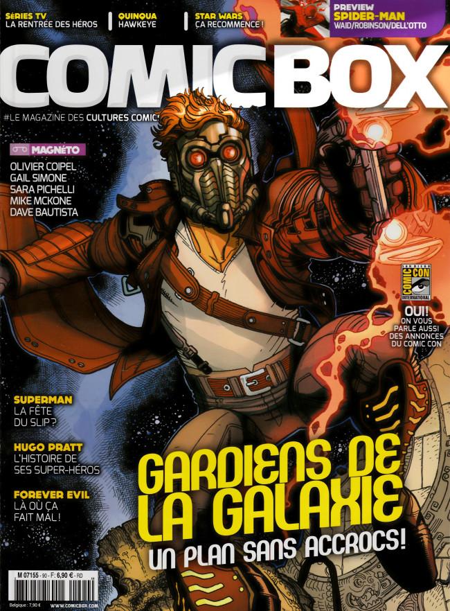 Couverture de Comic Box (1re série) -90- Comic Box 90