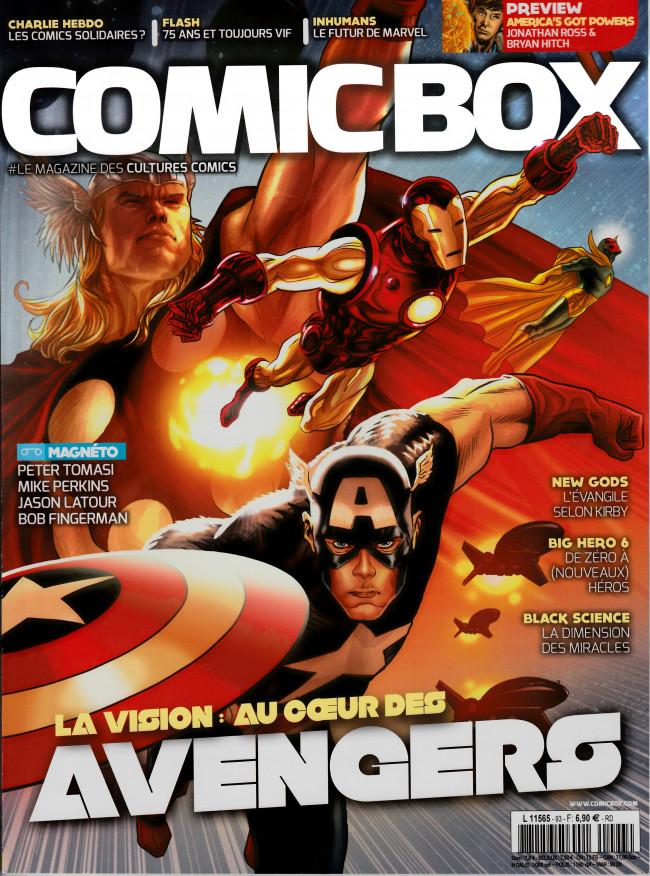 Couverture de Comic Box (1re série) -93- Comic Box 93