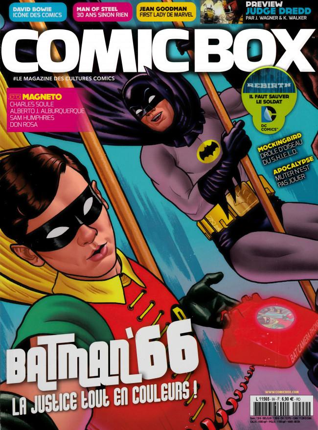 Couverture de Comic Box (1re série) -99- Comic Box 99