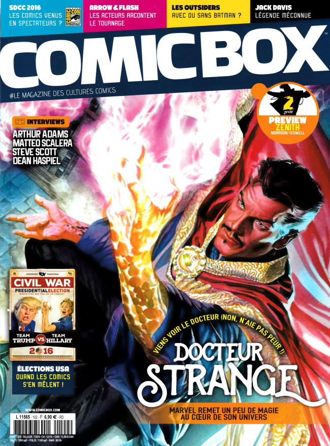 Couverture de Comic Box (1re série) -102- Comic Box 102