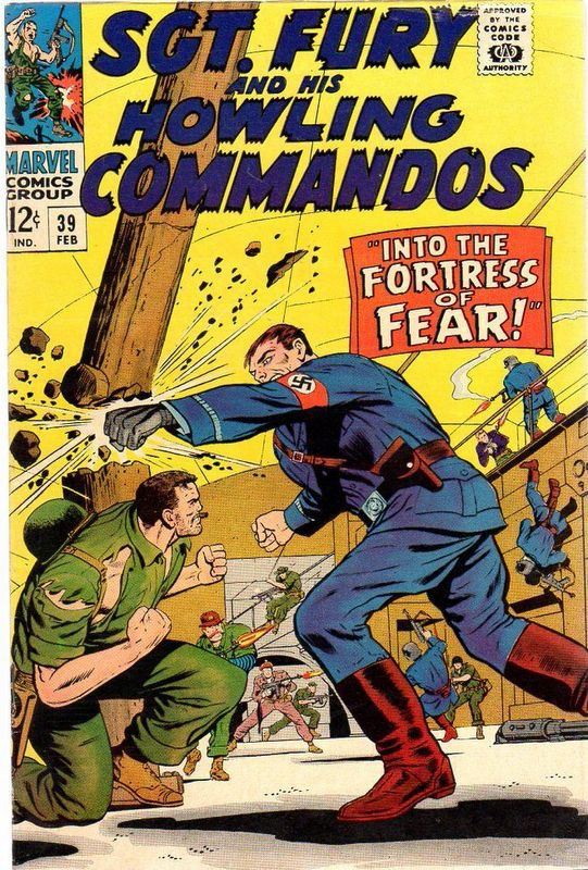 Couverture de Sgt. Fury and his Howling Commandos (Marvel - 1963) -39-