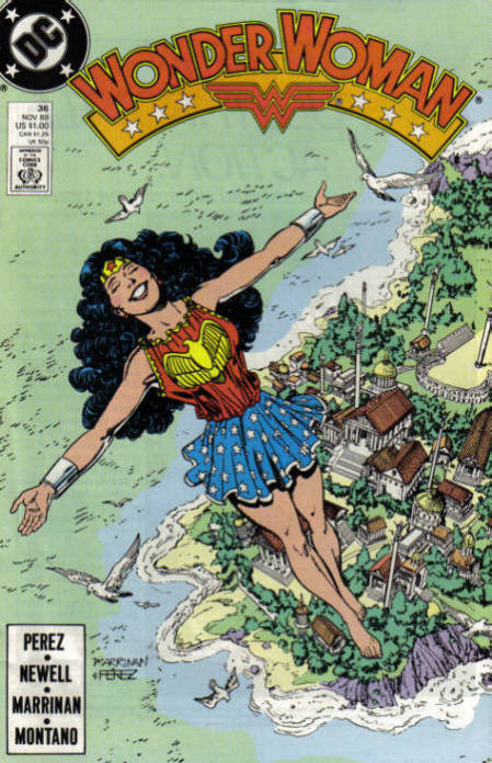 Couverture de Wonder Woman Vol.2 (DC comics - 1987) -36- Changes in the Wind