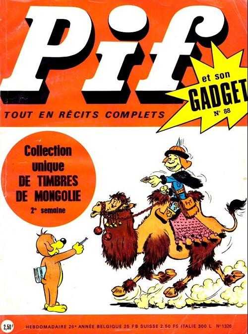 Couverture de Pif (Gadget) -88- Numéro 88